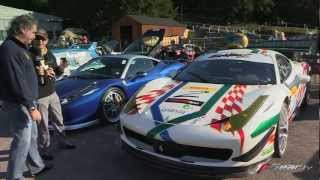 Ferrari 458 & 458 Racecar by Evolution 2 Motorsport