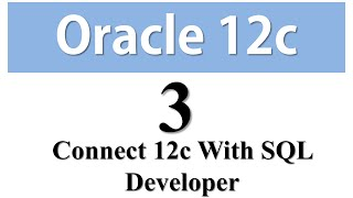 Oracle Database 12c Tutorial 3:Connect HR/SYS user with SQL Developer in Oracle12c Using TNS Service