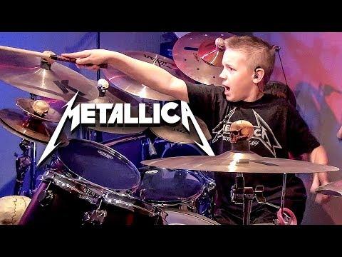 KING NOTHING 10 year old Drummer Drum   Avery Drummer Molek