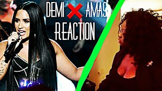 DEMI LOVATO-SORRY NOT SORRY| AMAS LIVE (REACTION)