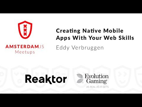 Creating Native Mobile Apps With Your Web Skills - Eddy Verbruggen