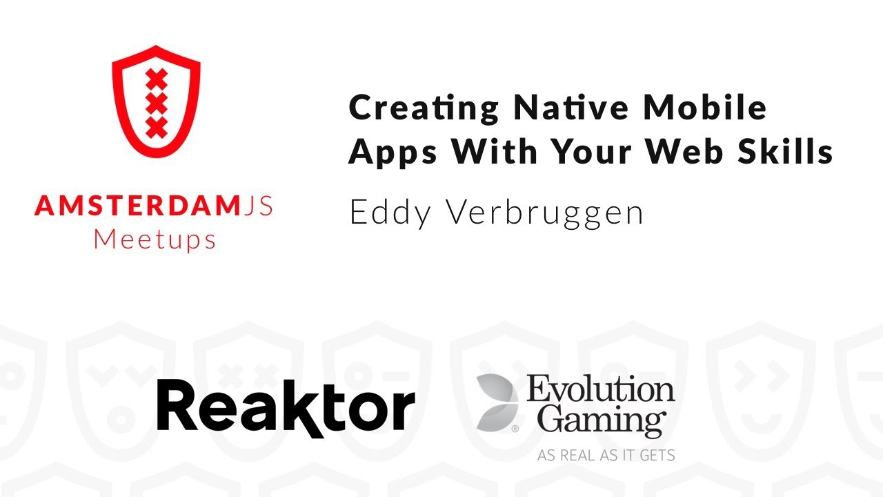 Creating Native Mobile Apps With Your Web Skills – Eddy Verbruggen
