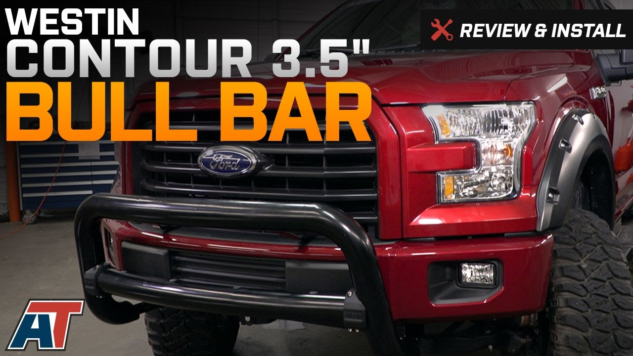 2017 F150 Westin Contour 3 5 Bull Bar Review Install