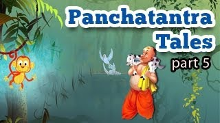 Panchatantra Tales in English - Animated Stories for Kids - Part 5