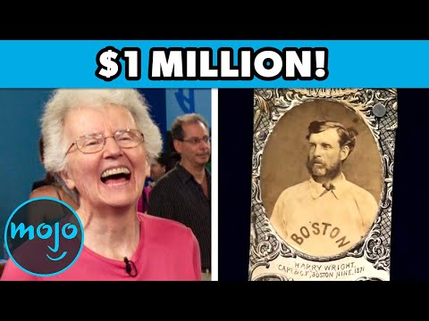 Top 10 Most Surprising Discoveries on Antiques Roadshow!!!