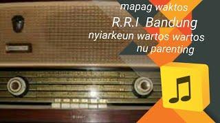 Tone RRI Bandung Jelang Siaran Berbahasa Sunda (P