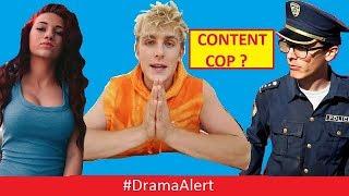 Jake Paul CONTENT COP? #DramaAlert CASH ME OUTSIDE vs Malu Trevejo - RiceGum Funny!