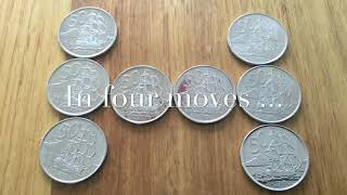 Makerspace Challenge Solution - Coin Puzzles