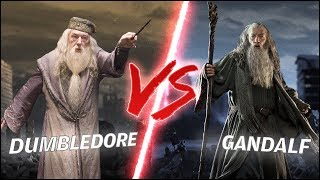 Dumbledore VS Gandalf