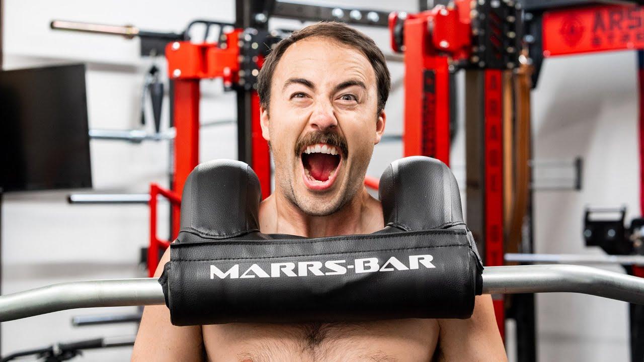 The Weirdest Squat Bar I've Ever Used...