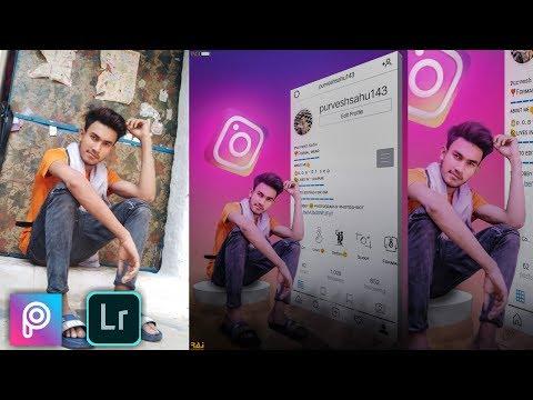 Instagram Photo Editing Tutorial  in PicsArt And Adobe Lightroom Mobile 2019 || Raj Photoediting thumbnail
