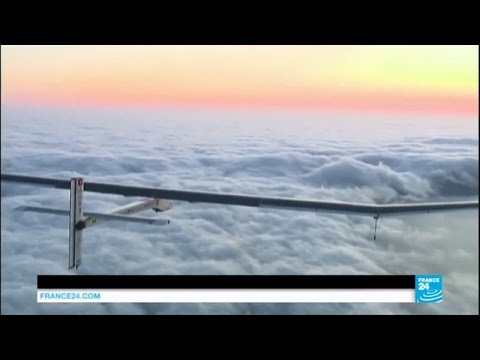 Solar plane completes historic round-the-world flight