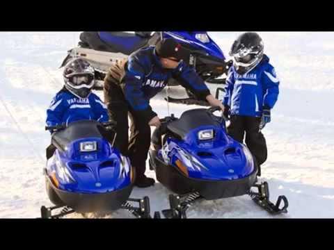 Детский снегоход Yamaha SRX 120 1