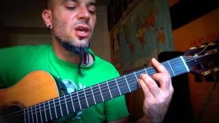 Como tocar EL TALISMAN de ROSANA - Vídeo 2; Tutorial KARMA GUITAR