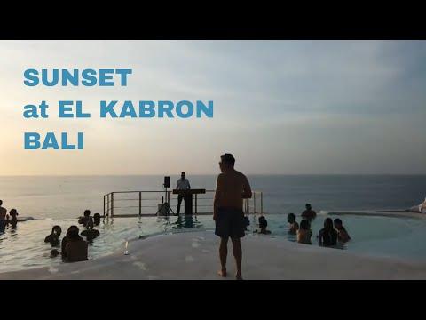 SUNSET AT EL KABRON, BALI