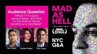 'what's Tyt's Plans Moving Forward?' – Q&a With Cenk Uygur At Mad As Hell Film Screening