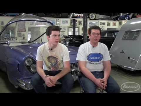 Chopit Kustom Cars Interview -  Talking Awesome Cars with Nick & Fabian - Eastwood