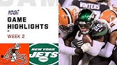Browns vs. Jets Week 2 HighlightsNFL 2019