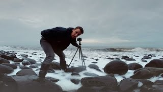 Landscape Photography in the Rain - Dull Weather Seascape - Photo Vlog