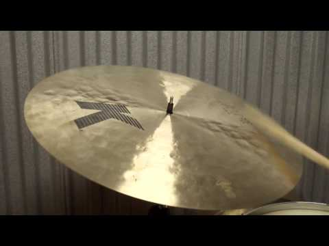 "K Zildjian 20"" Light Flat Ride cymbal 1612g"