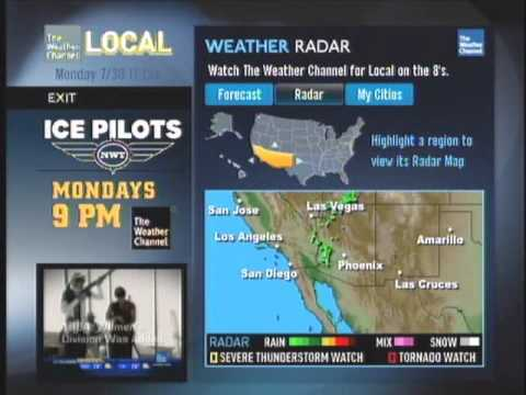 directv 39 s local weather app during the weather channel. Black Bedroom Furniture Sets. Home Design Ideas