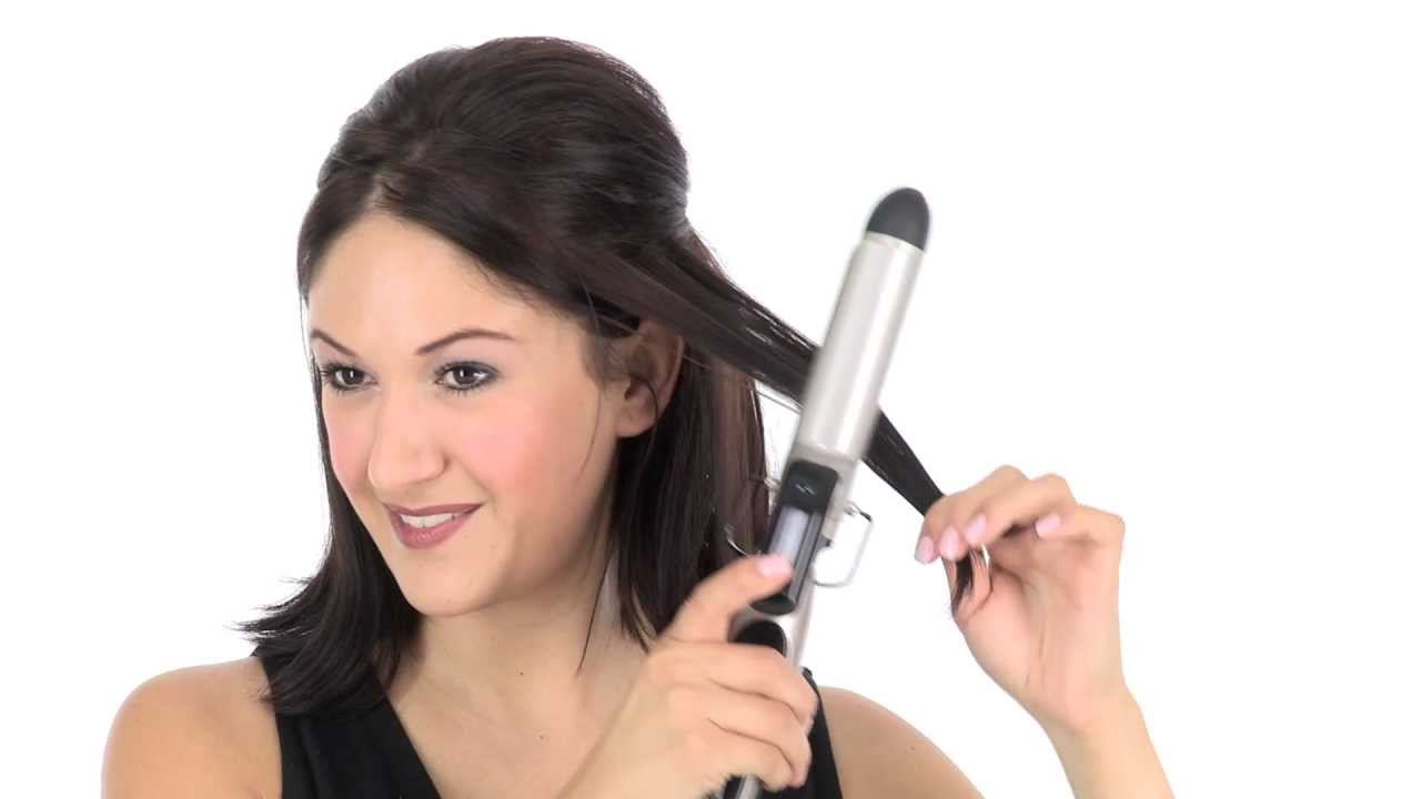 how to make curle hair with smaller curling iron