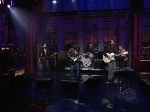 Ryan Adams - Let It Ride - live Letterman