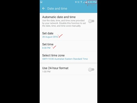 How To Change Time and Date On Samsung Galaxy S7/Edge/S6/Note5/Android