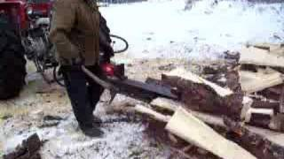 Log Splitter 25 Ton 3-point Hitch For Tractor