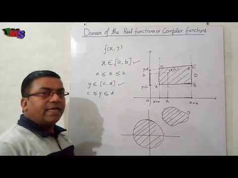 Domain of the Real and Complex Functions.