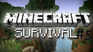 Minecraft Survival - Bölüm 5 - Camlar Döşendi