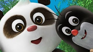 Премьера! Новые мультики 2017 - Кротик и Панда - Друг издалека + Вечеринка для Кротика