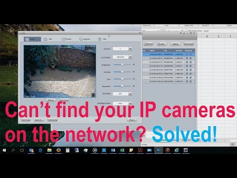 How to use Smart Config Tool to locate a Dahua IP camera on