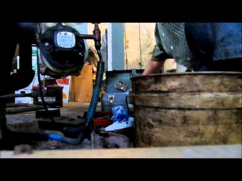 OIL FIRED BOILER: how to clean and oil fired boiler