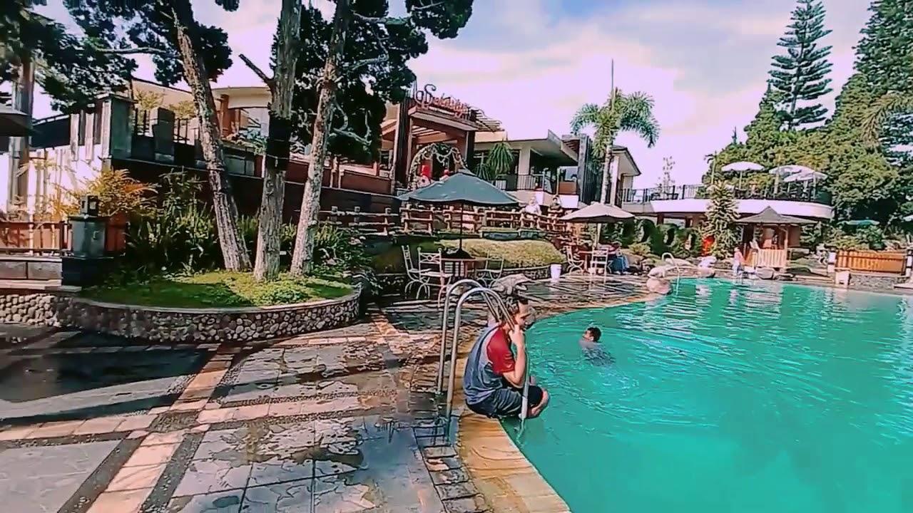 Hotel Purnama Batu kolam renang - YouTube