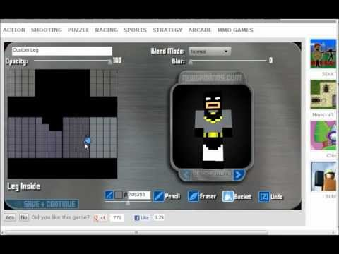 how to make the batman symbol in minecraft