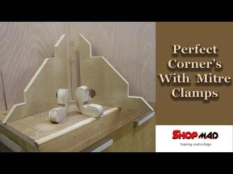 Perfect Corners With Miter Corner Clamp Jig DIY Build