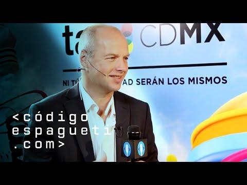 Sebastian Thrun - TagCDMX 14 -