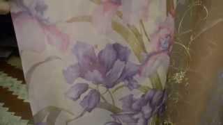 Тюль. Яркие тона. 4314. Материал шифон. Декор (узор) - крупные цветы. Тюль в Украинке.(http://rodus.com.ua/tyul.html Салон-магазин штор, гардин и ламбрекенов Изумруд, предлагает шторные ткани, тюль, карнизы..., 2015-01-20T07:49:44.000Z)