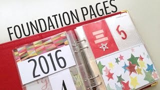 2016 DECEMBER DAILY FOUNDATION PAGES