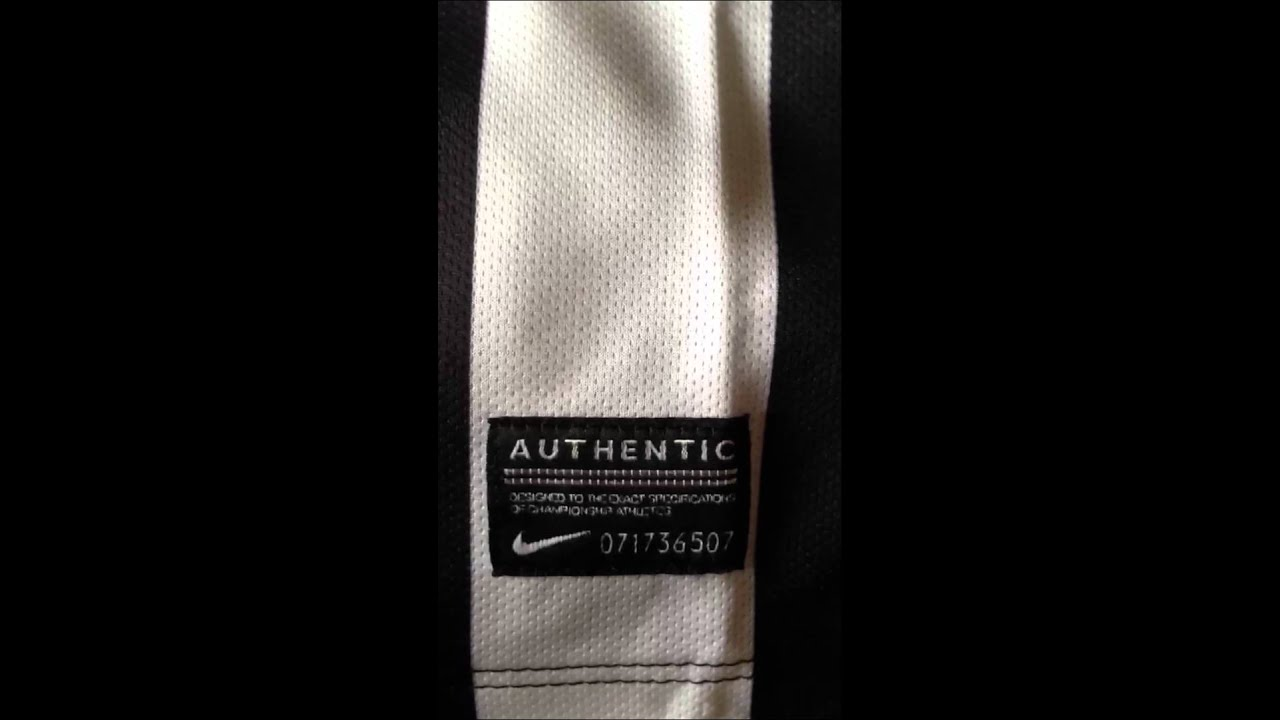 59749af5b Authentic Juventus 2013-14 jersey - YouTube