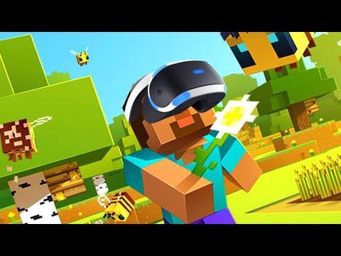 Minecraft VR Ps4 Bedrock Edition YouTube