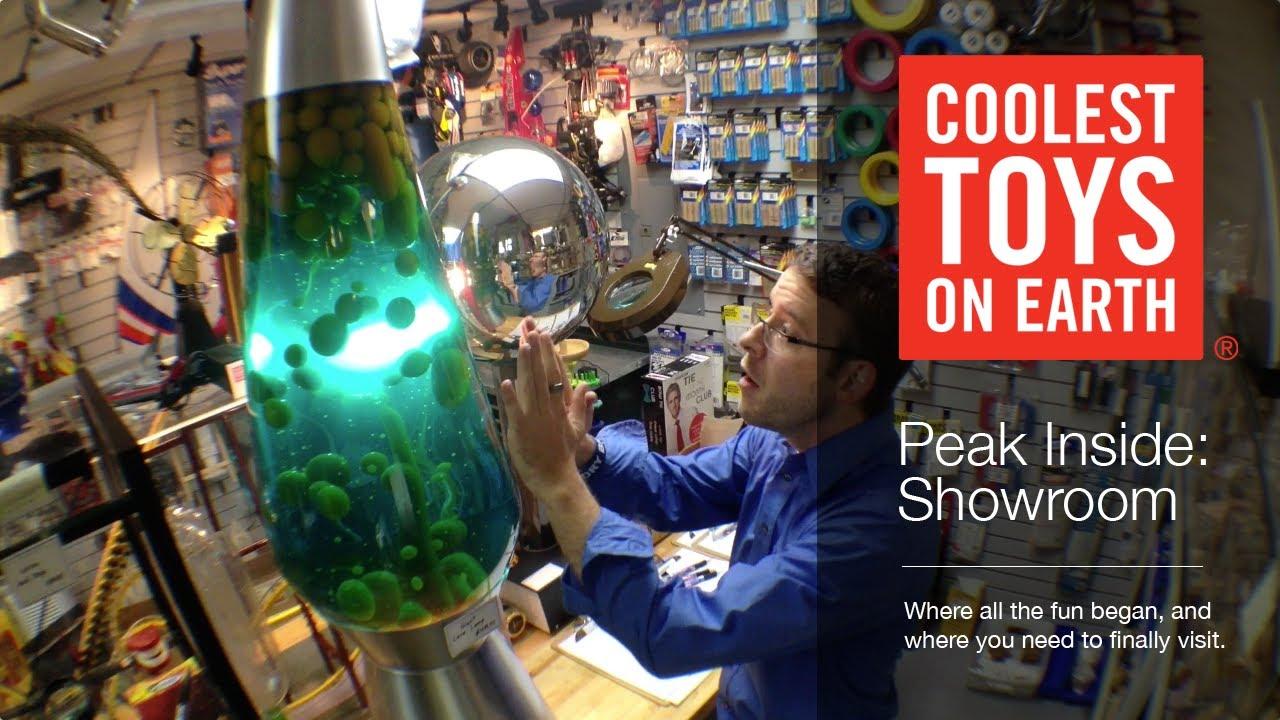 Coolest Toys On Earth : Coolest toys on earth peak inside the showroom youtube