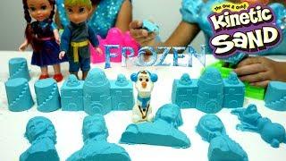 Jessica Jenica Mainan Pasir Ajaib FROZEN 💖 KINETIC MAGIC SAND Toys For Kids 💖 Let's Play