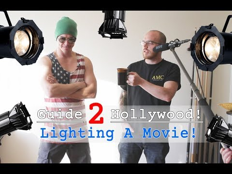 Guide 2 Hollywood: Lighting a Movie (How to do a boom mic)