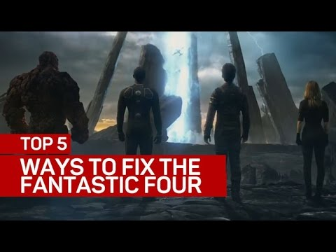 Top 5 ways to fix the Fantastic Four franchise (CNET Top 5)