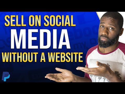 Make A PayPal Sell On Social Media Button 2020 | Sell Without A Website