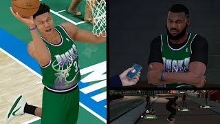 NBA 2k19 MyCAREER - Gento to Giannis Lobs! Neighborhood Skateboard Tricks! Ep. 6