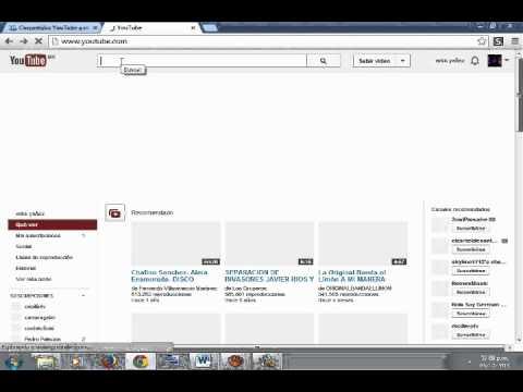 VIDEO TUTORIAL DE COMO CONVERTIR VIDEOS DE YOUTUBE A MP3 SIN VIRUS