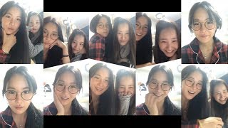 조현영 배우희 레인보우 Dal★Shabet 현영 우희 HyunYoung 's 191130 IG Live 01…
